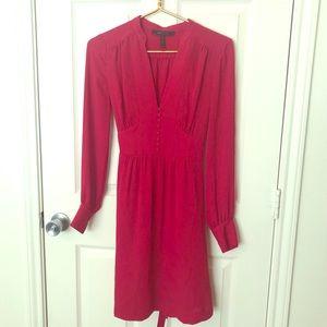 BCBG 'Fabiana' long sleeve dress